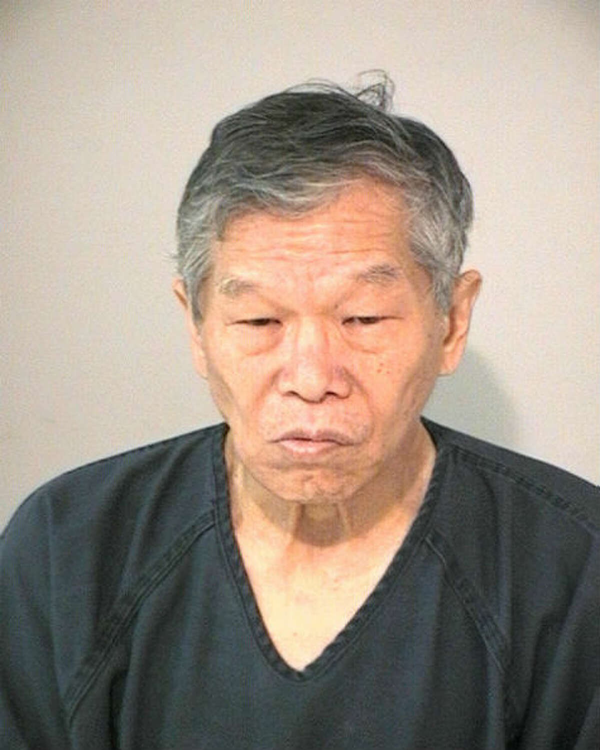 Sai-Shin Chow, 66, was arrested and charged with promotion of prostitution during a bust of the Oasis Foot Reflexology spa in Cinco Ranch.
