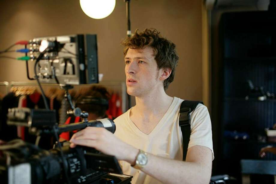 "Film director Daryl Wein, a Westport native, at work on his new film, ""Breaking Upwards."" Wein's film has won numerous film festival awards and will begin a week-long run in New York on April 2 at the IFC Center in downtown Manhattan and on April 30 at Garden Cinema in Norwalk. Photo: Contributed Photo / Westport News"