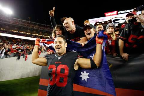 separation shoes c4dba 70edf Former 49er Jarryd Hayne charged with sexual assault ...