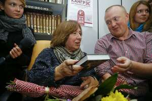 Nobel Prize in literature awarded to Svetlana Alexievich - Photo