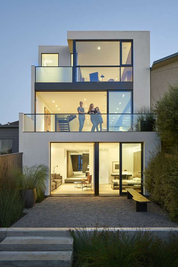 The tri-level Noe Valley home is listed for $4.75 million. Photo: Bruce Damonte, Photo: Bruce Damonte