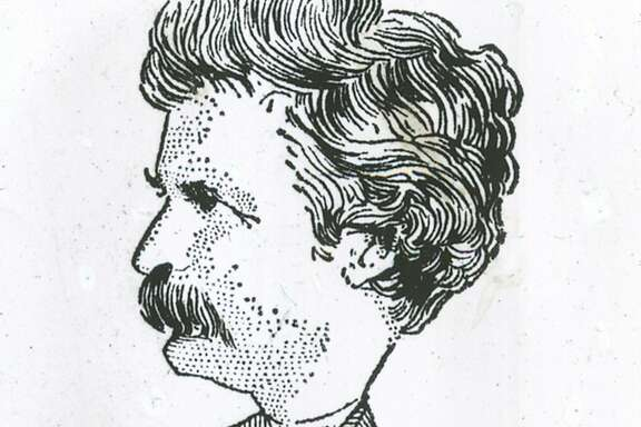 Insight02_KOMP.jpg This illustration of Mark Twain's celebrated jumping frog of Calavaras County appeared in the N.Y. Herald Tribune  portals1010_twain  /San Francisco Chronicle