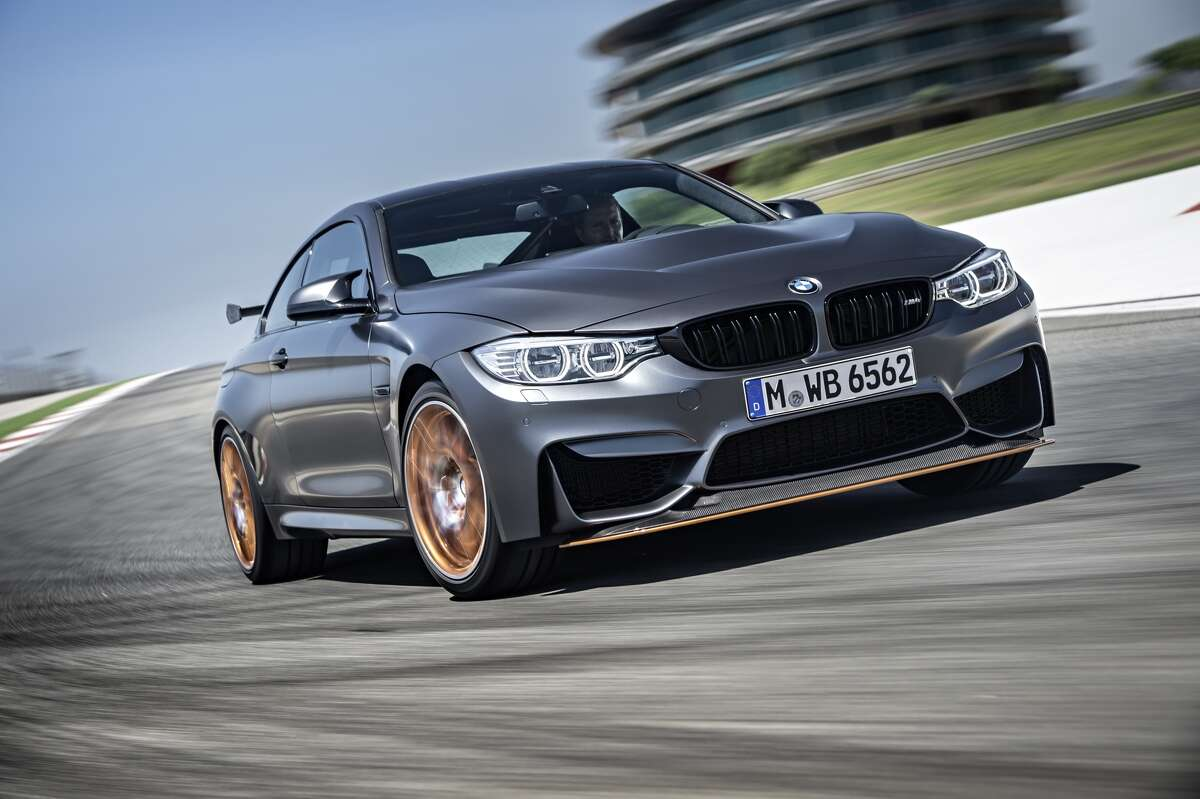 The new 2016 BMW M4 GTS.