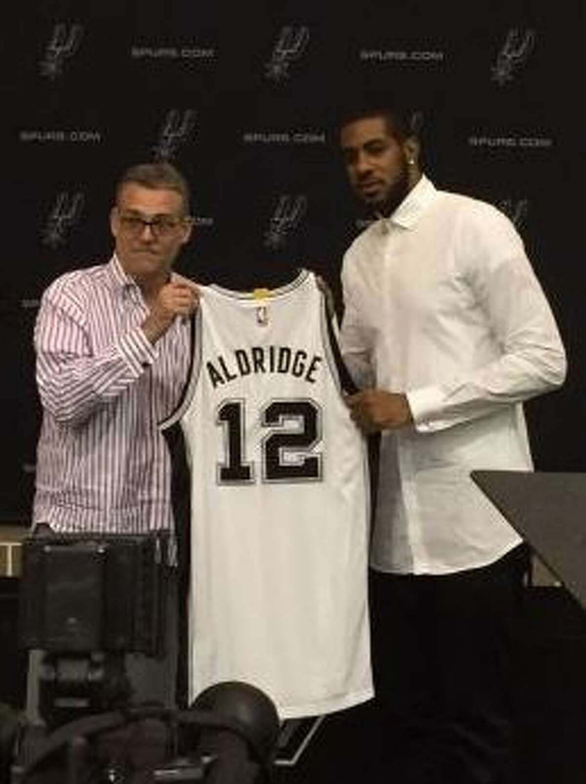 10. Welcome to S.A., LA There's not much left to say here that hasn't already been said. The Spurs won the summer when they won Aldridge over. San Antonio signed the four-time All-Star to a four-year, $84,072,030 contract through the 2018-2019 season.