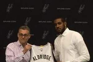 Aldridge amped up for Spurs debut - Photo