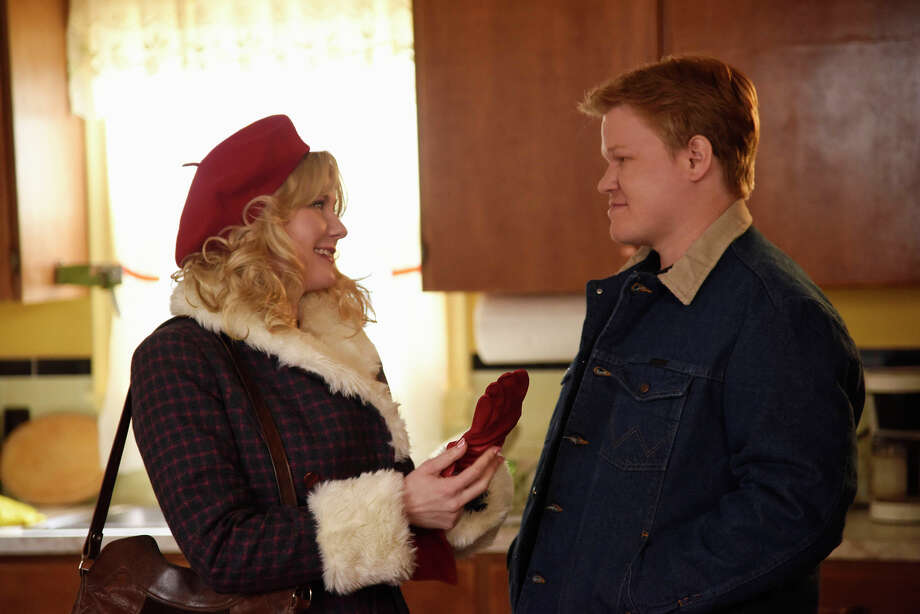 Kirsten Dunst (left) as Peggy Blumquist and Jesse Plemons as Ed Blumquist. / Copyright 2015, FX Networks. All Rights Reserved.