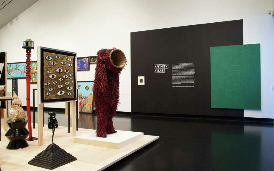 Installation view of Affinity Atlas at the Frances Young Tang Teaching Museum and Art Gallery at Skidmore College, from Sept. 5, 2015, through Jan. 3, 2016. (Tang Teaching Museum photograph by Arthur Evans)