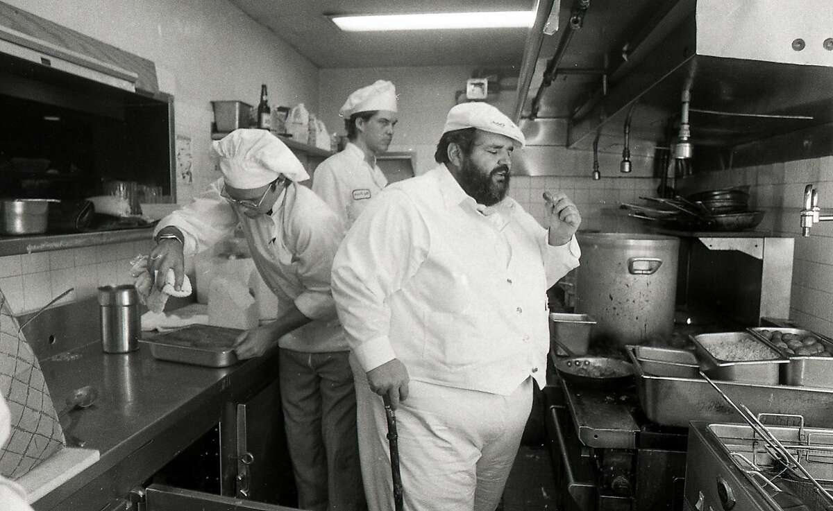 1n 1983, Paul Prudhomme set up a version of his K Paul restaurant at the Old Waldorf nightclub in San Francisco Photos shot 07/27/1983