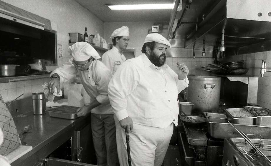 1n 1983, Paul Prudhomme set up a version of his K Paul restaurant at the Old Waldorf nightclub in San Francisco   Photos shot 07/27/1983 Photo: John O'Hara, The Chronicle