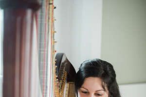 Sunday recital features world-class musicians in Danbury, and the welcoming of a special harp and piano - Photo