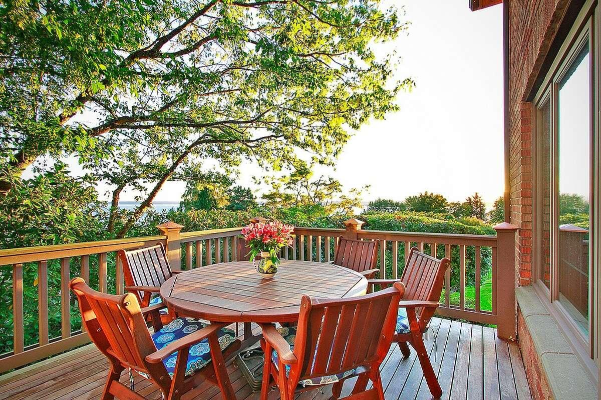 The back deck of 2570 Magnolia Blvd. W.