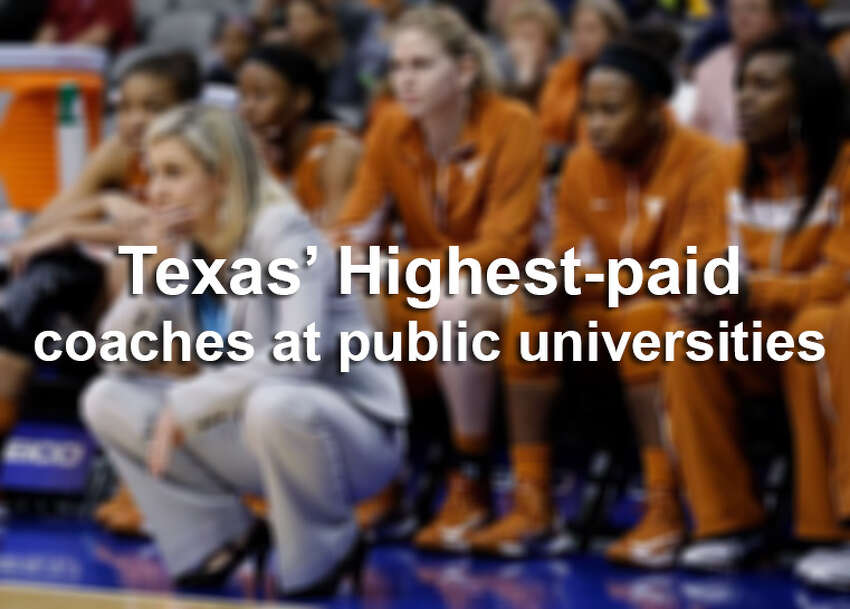 All sports included, here are the 40 highest-paid coaches at public universities in Texas.