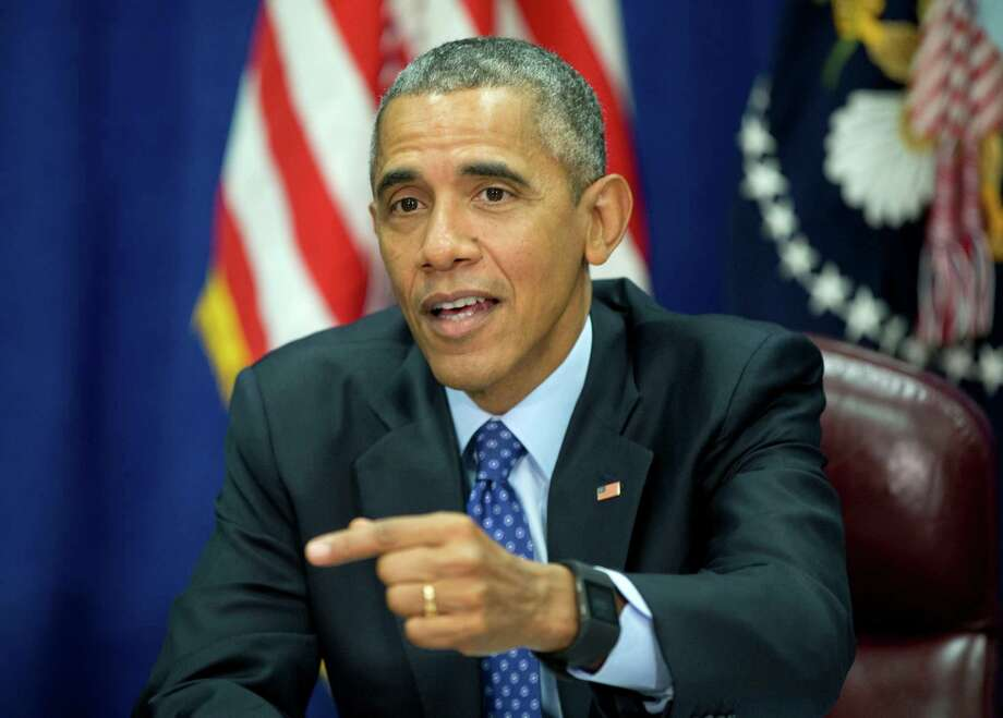President Barack Obama threw a tantrum about guns, but he lacks the skill to work with Confgress to make the reforms that he wants. Photo: Pablo Martinez Monsivais /Associated Press / AP