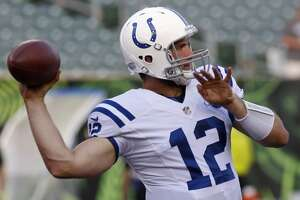 Colts QB Andrew Luck scratched; Texans starting rookie Keith Mumphery - Photo