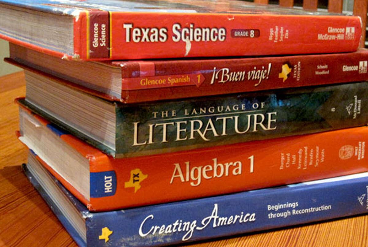 Texas high school textbooks