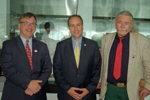 Greenwich attorneys hear first selectman candidates at luncheon forum - Photo