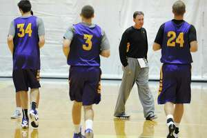 UAlbany basketball player Joe Cremo has new number with new team - Photo
