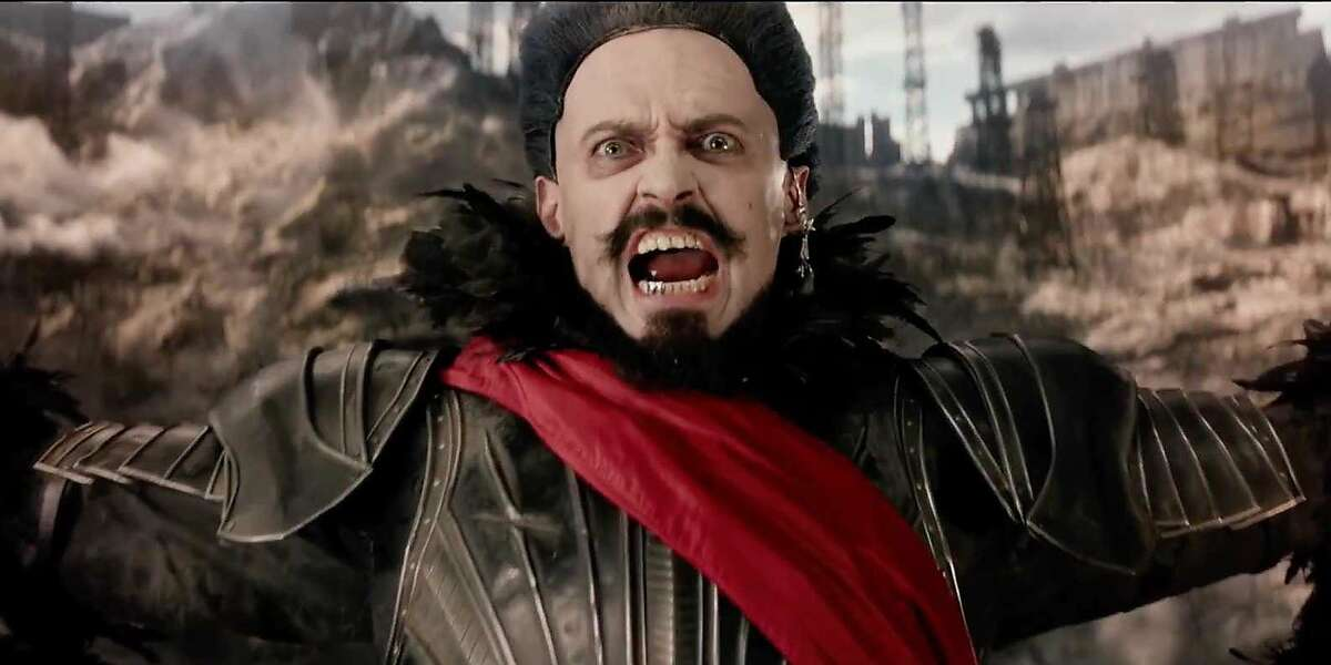 """Hugh Jackman stars as """"Blackbeard"""" in """"Pan"""" which tells the story of young Peter Pan before his adventures in the classic J.M. Barrie story."""