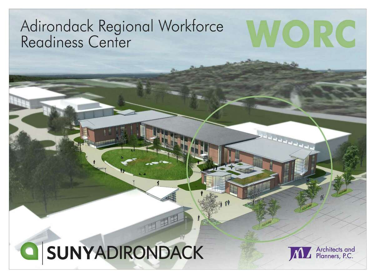 Rendering of the proposed SUNY Adirondack Regional Workforce Readiness Center. (Photo provided by SUNY Adirondack)
