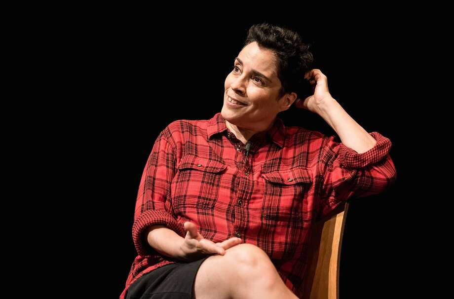 Marga Gomez in her 11th solo show. Photo: Ian Douglas