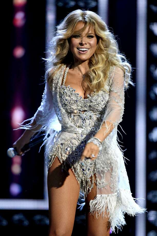 Singer Gloria Trevi Performs Onstage During Telemundos Latin American Music Awards At The Dolby Theatre On