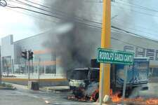 Explosive violence    Cartel violence swept through Reynosa on Friday, April 17, 2015. A reminder of powerful cartel presence.
