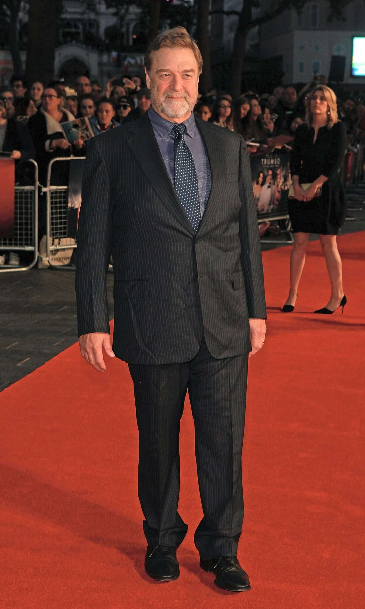 John Goodman attends the Accenture Gala Screening of 'Trumbo' during the BFI London Film Festival at Odeon Leicester Square on October 8, 2015 in London, England. (Photo by )