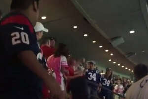 Houston Texans fan fight at NRG Stadium caught on camera - Photo