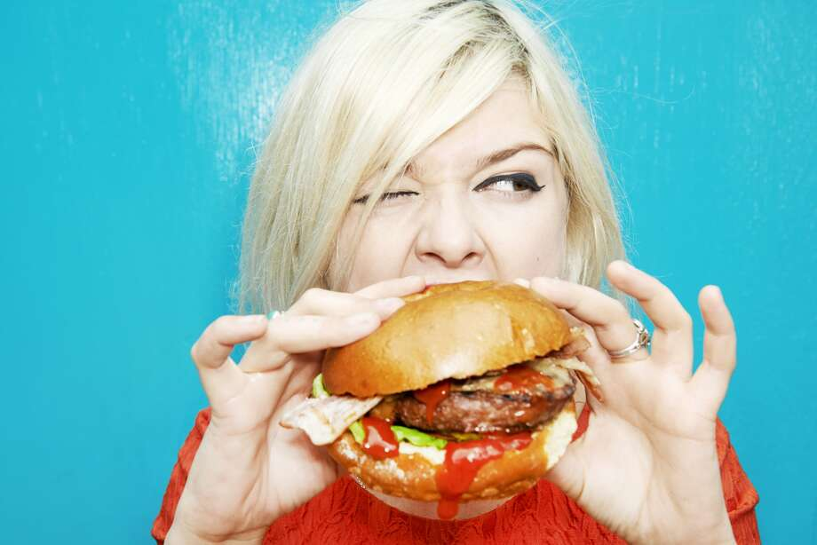 A U.K. study finds one-third of vegetarians eat meat while drunk.  Photo: Tara Moore, Getty