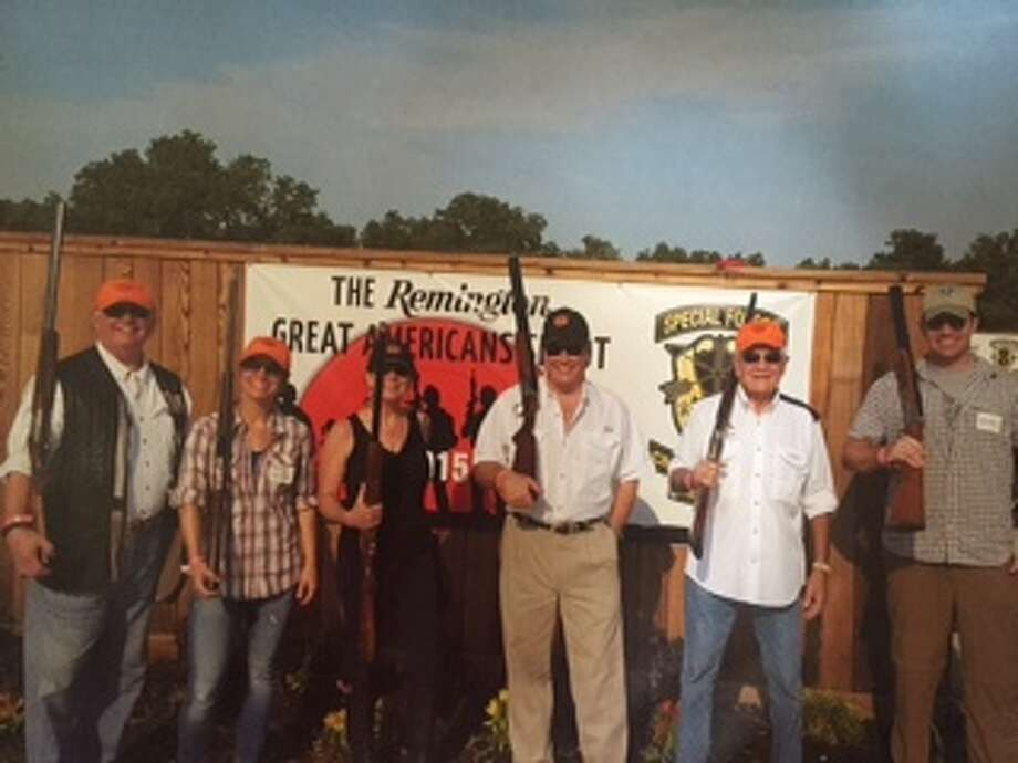 The Remington Team; third from left is Susan Boss.