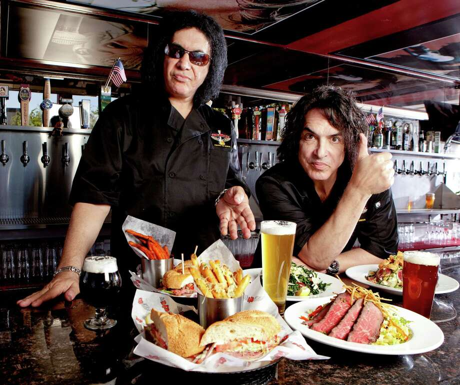 Rock legends Paul Stanley and Gene Simmons are bringing their Rock & Brews chain to the Alamo City. Photo: Courtesy Rock & Brews