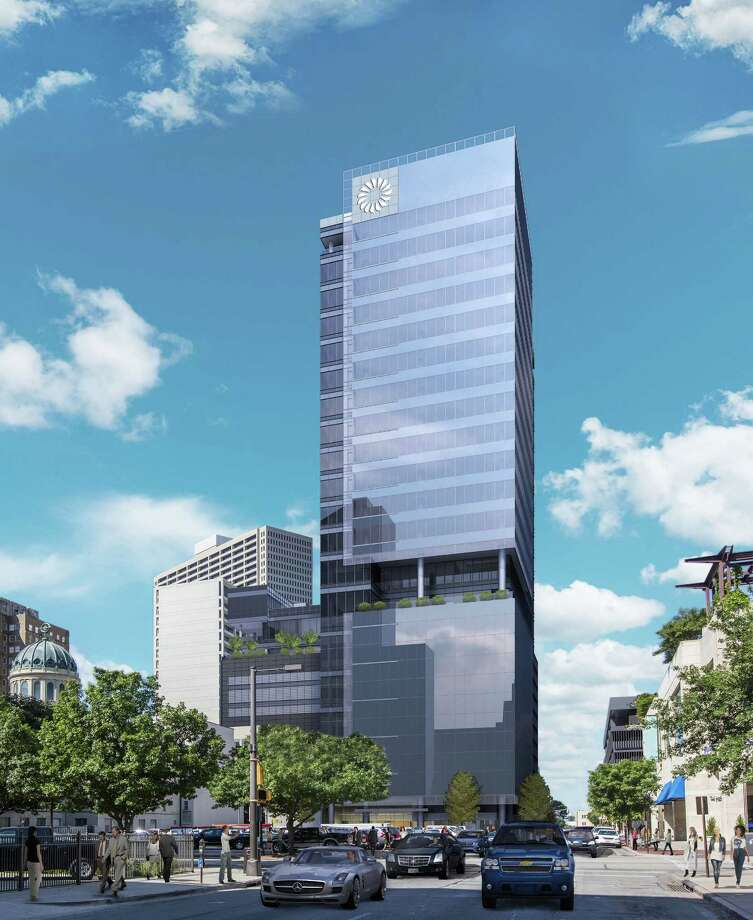 Rendering of  the 25-story Frost Tower, which is slated to open in late 2017 ind downtown Fort Worth. Photo: Courtesy / Courtesy / steelshutter.com