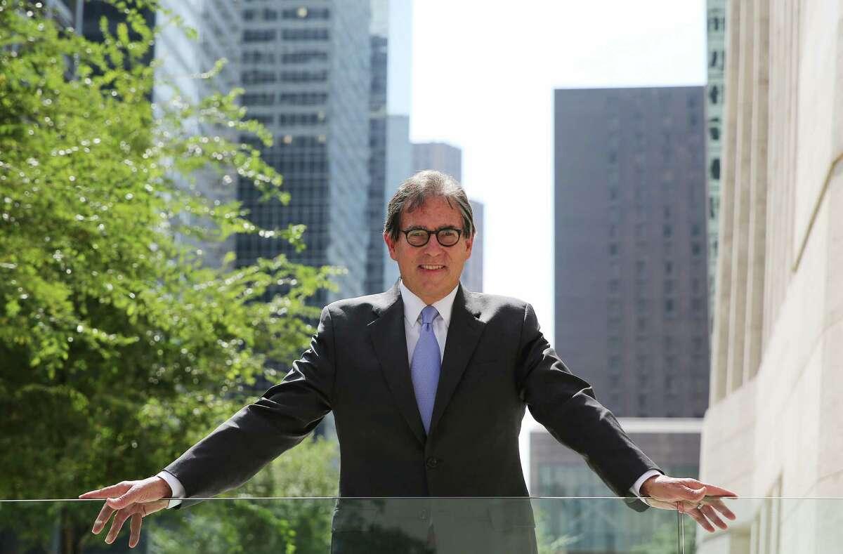 Photos of Los Angeles based architect Richard Keating in downtown Houston on Wednesday, Oct. 7, 2015. ( Elizabeth Conley / Houston Chronicle )