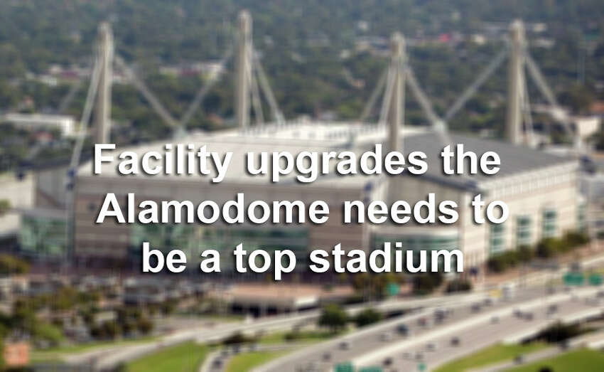 Click through the slideshow to see what the Alamodome needs to do to become a top-flight stadium.