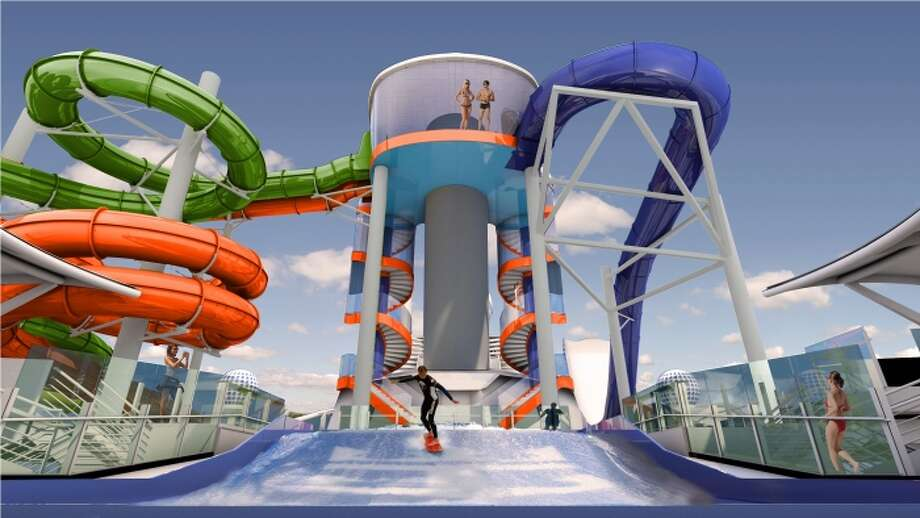 Royal Caribbean To Debut First Ever Water Slides On