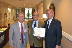 Shelton's Perillo honored for legislative service in health care - Photo