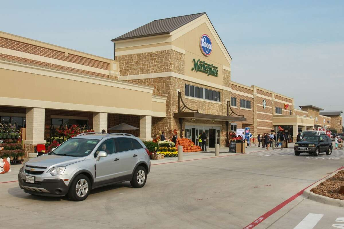 The new Katy Kroger Marketplace, which opened Oct. 9, 2015, today at 1712 Spring Green Blvd. in Katy.