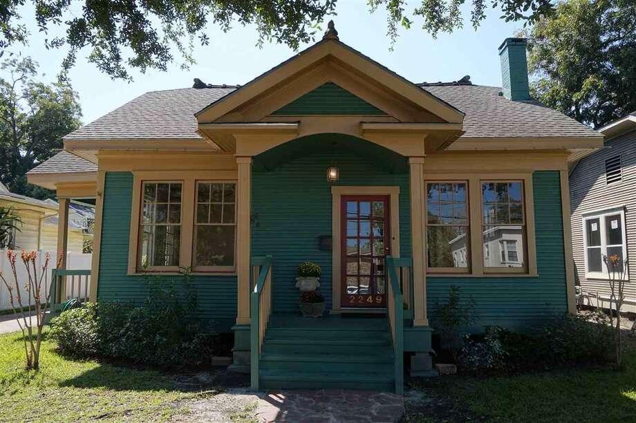 2249 Hazel St., Beaumont, TX 77701. $98,500. 2 bedrooms, 2 full bath. 1,149 sq. ft. Photo: Courtesy Of Realtor.com