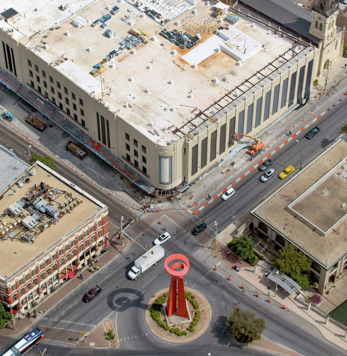 1. A newly reconstructed and totally tricked-out Joske's building: While the department store isn't making a comeback, the building will hold a 34,000-square-foot Dave & Buster's, a Starbucks and plenty of dining and shopping options.