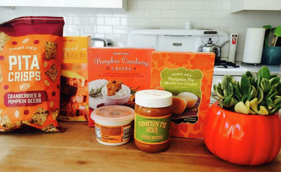 Trader Joe's sells more than 60 pumpkin products in stores around the California Bay Area. Photo: Amy Graff