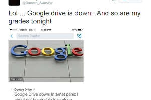Google Drive crashes, users rage through memes - Photo