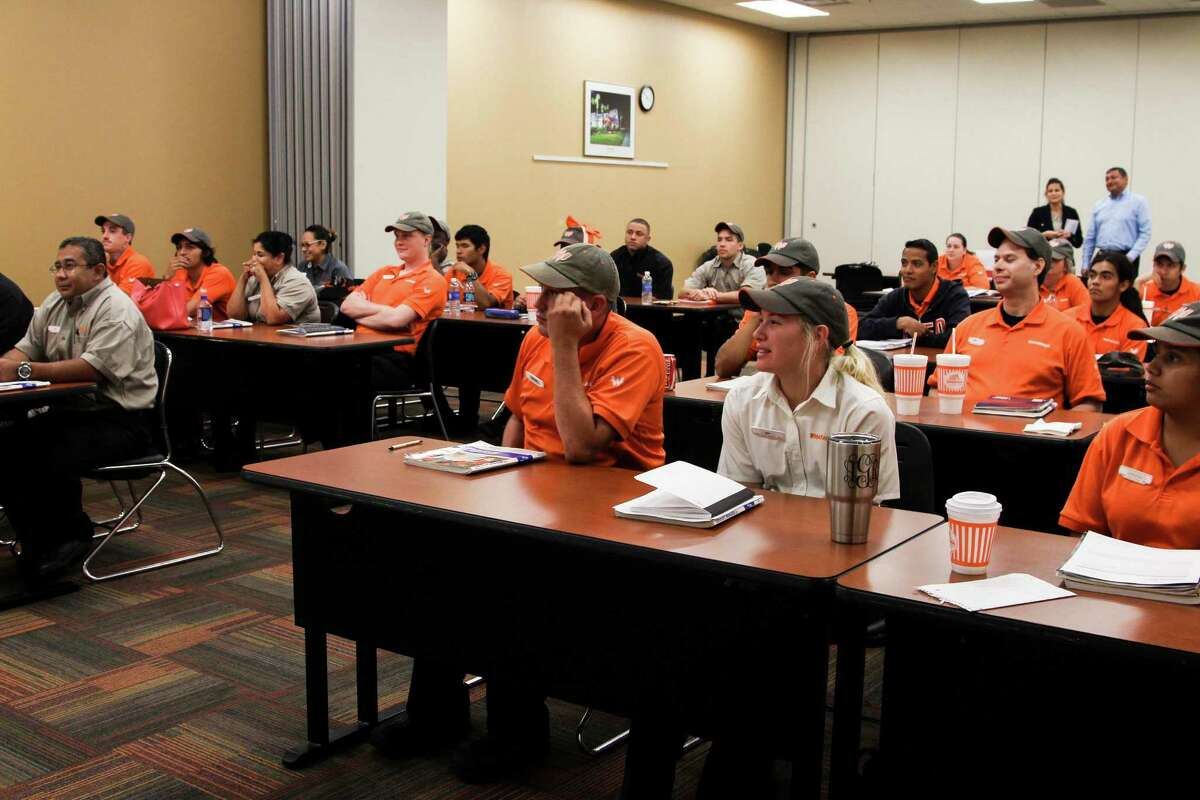 Whataburger University offers learning and promotion opportunities for Whataburger employees. Managers are groomed here to become leaders in the future.