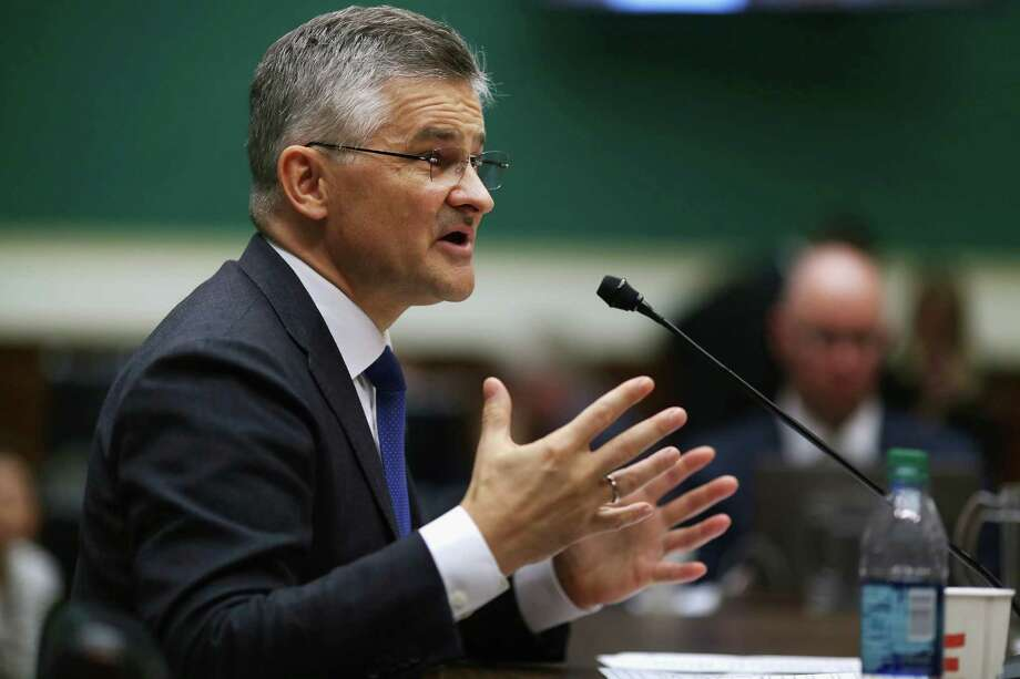 Volkswagen Group of America President and CEO Michael Horn testifies Thursday before the House Energy and Commerce Committee's Oversight and Investigations Subcommittee. Photo: Chip Somodevilla /Getty Images / 2015 Getty Images