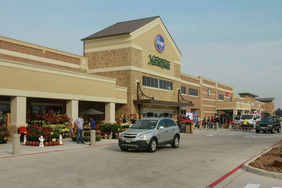The new Katy Kroger Marketplace, which opened today at 1712 Spring Green Blvd. in Katy. (For the Chronicle/Gary Fountain, October 9, 2015)