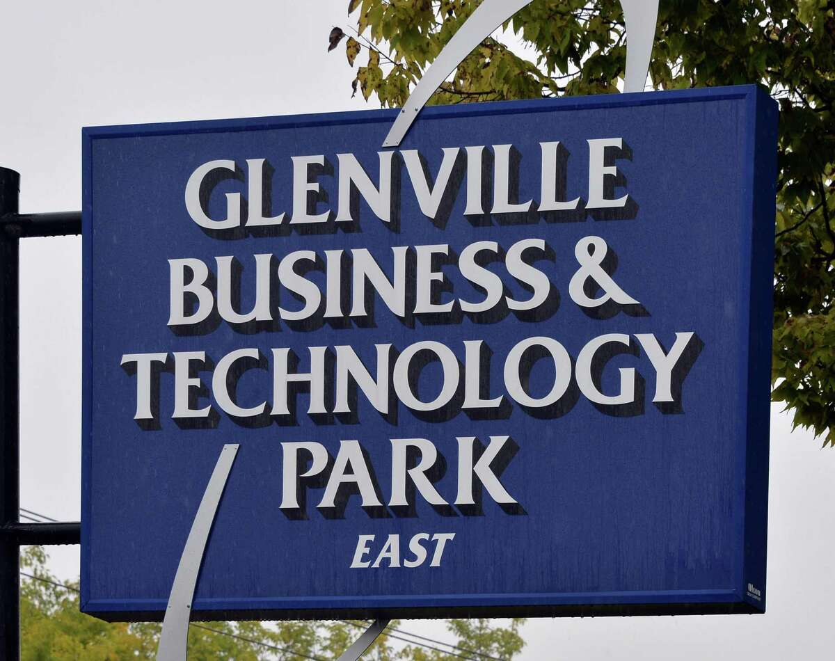 Sign at an entrance to Glenville Business & Technology Park Friday Oct. 9, 2015 in Glenville,NY. (John Carl D'Annibale / Times Union)
