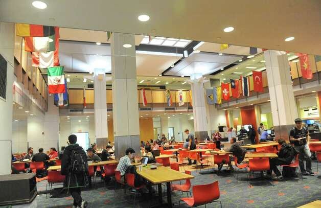 RPI Student Union on the RPI campus on Friday Oct. 9, 2015 in Troy, N.Y.  (Michael P. Farrell/Times Union) Photo: Michael P. Farrell / 10033706A