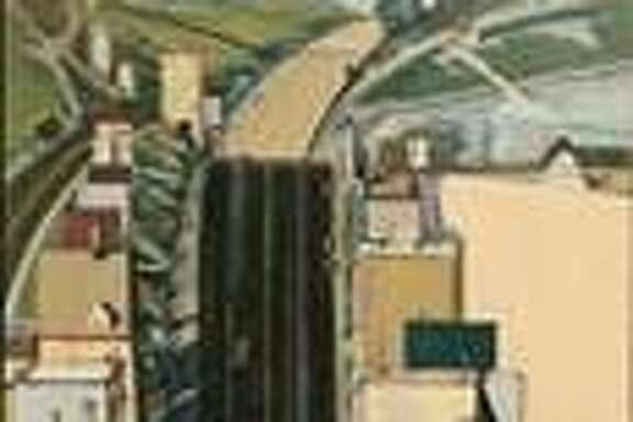 "Wayne Thiebaud's ""Steep Street,"" 1980"