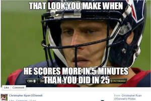 Memes make Texans butt of the joke after loss to Colts - Photo