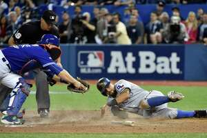 Rangers-Blue Jays 14-inning game historic - Photo