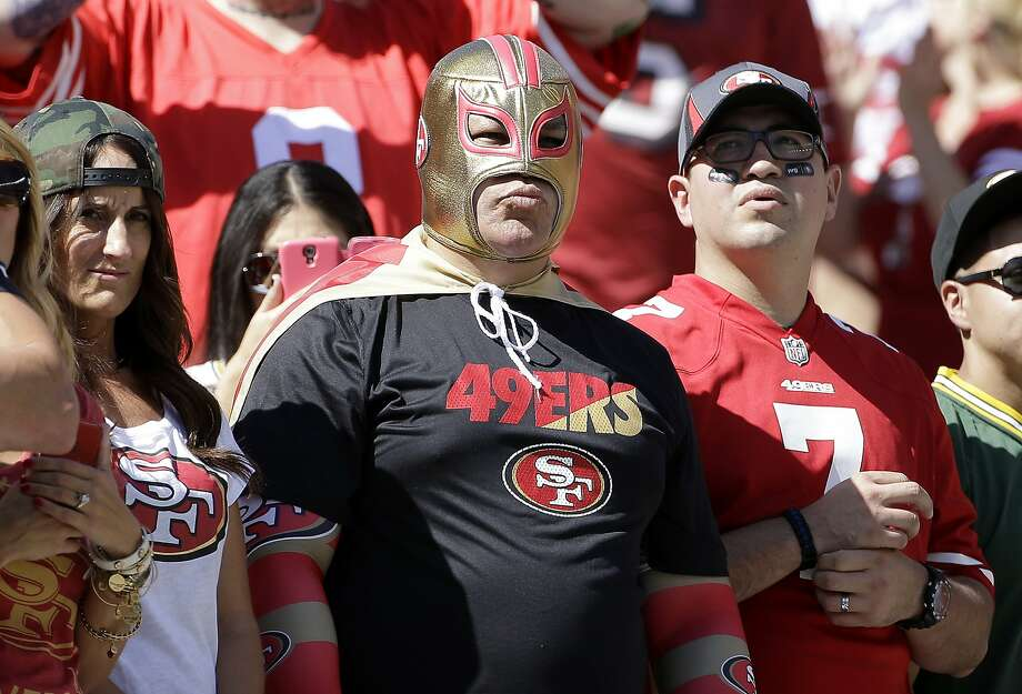 Fans of the 49ers take in Sunday's loss at Levi's Stadium. Though there have been complaints about the dismal play, the message doesn't seem to be getting through. So what's the next move? Photo: Jeff Chiu, Associated Press